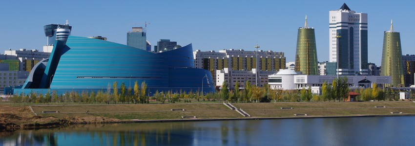 Downtown Astana With The National Concert Hall
