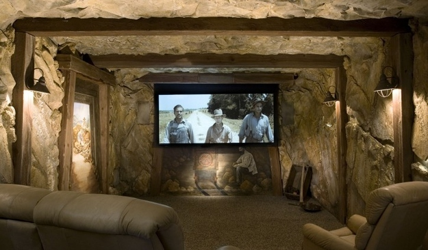 سینما خانگی طرح معدن طلا