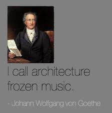 Goethe architecture is frozen music