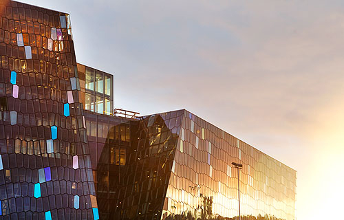 Iceland's Harpa Concert Hall and Conference Center